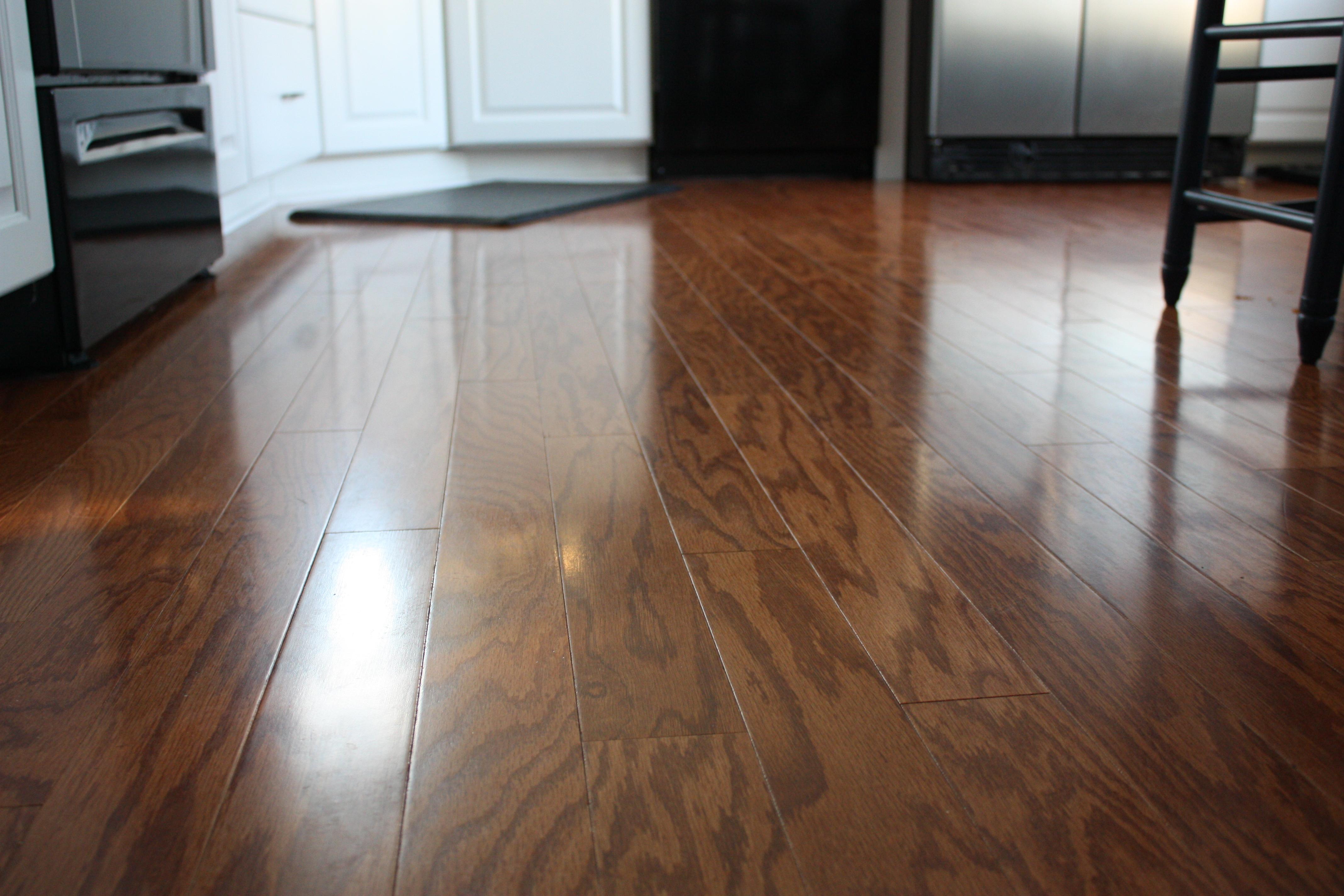 Wood Floors Floor Before After